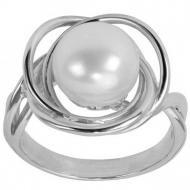 Срібний перстень з перлинами