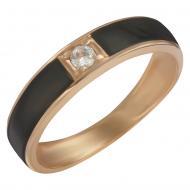 Золотий перстень з емаллю