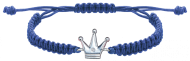 Срібний браслет з фіанітами